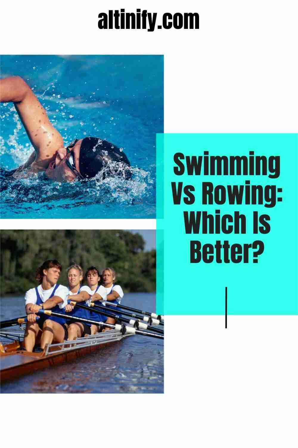 Swimming Vs Rowing:  Which Is Better?